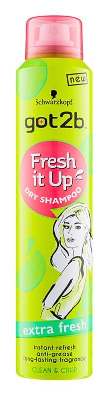 got2b Fresh it Up suchy szampon absorbujący nadmiar sebum i odświeżający włosy