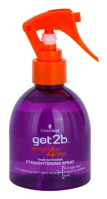 got2b Straight on 4 Days Spray  voor Haarstijling