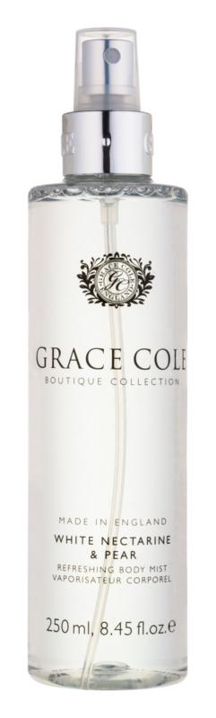Grace Cole Boutique White Nectarine & Pear erfrischendes Bodyspray