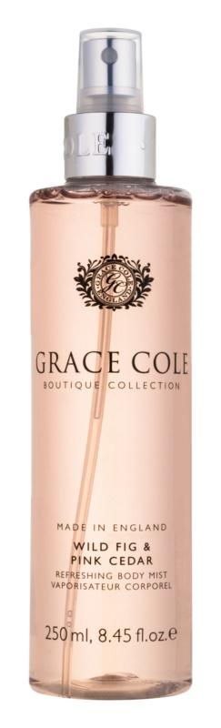 Grace Cole Boutique Wild Fig & Pink Cedar spray corporal refrescante