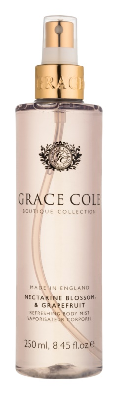 Grace Cole Boutique Nectarine Blossom & Grapefruit erfrischendes Bodyspray