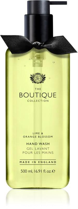 Grace Cole Boutique Lime & Orange Blossom tekuté mydlo na ruky