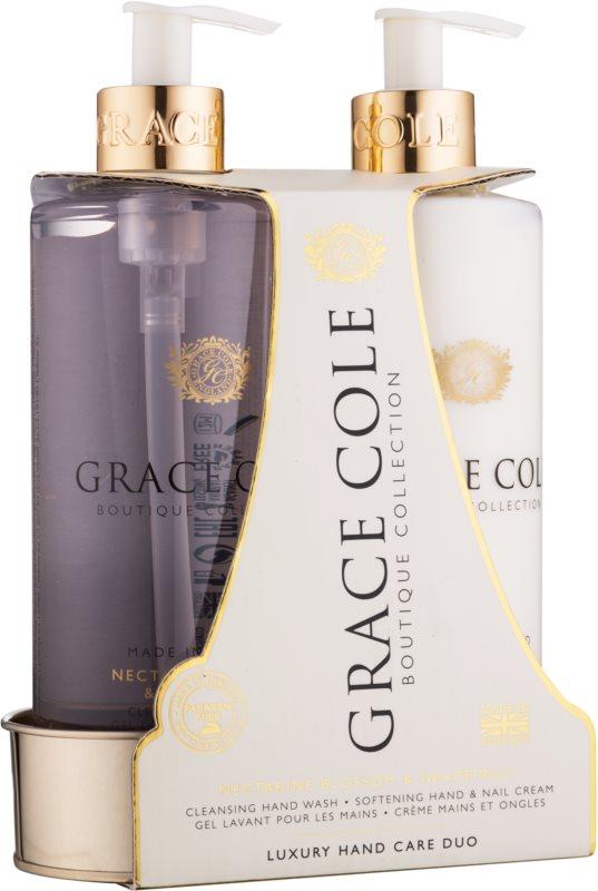 Grace Cole Boutique Nectarine Blossom & Grapefruit Kosmetik-Set  II.