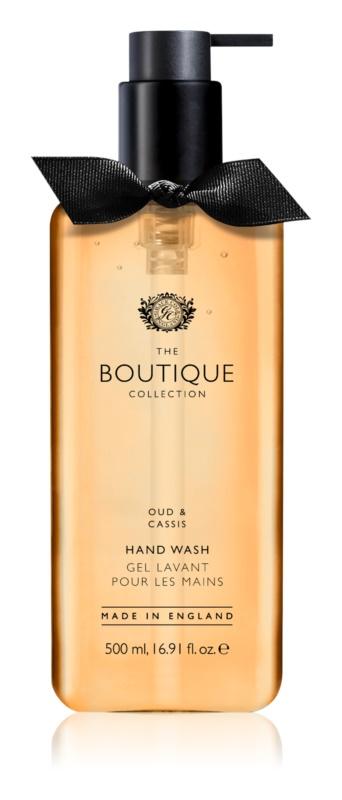 Grace Cole Boutique Oud & Cassis tekoče milo za roke