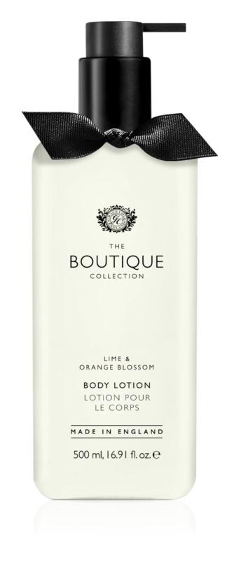 Grace Cole Boutique Lime & Orange Blossom tělové mléko