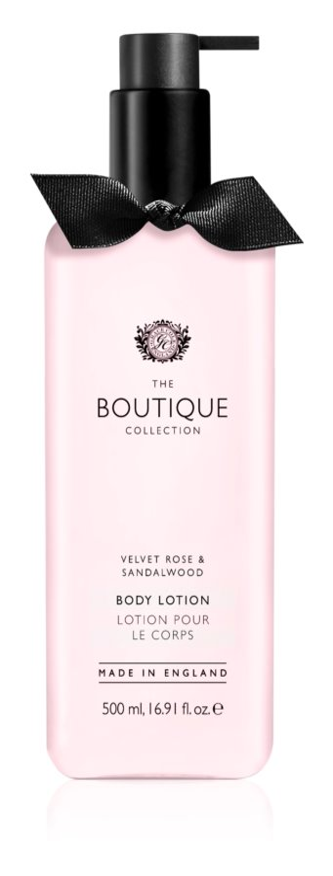 Grace Cole Boutique Velvet Rose & Sandalwood tělové mléko