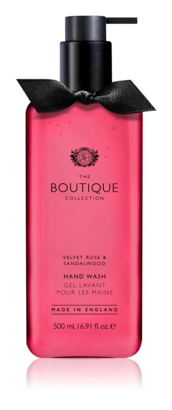 Grace Cole Boutique Velvet Rose & Sandalwood Săpun lichid pentru mâini