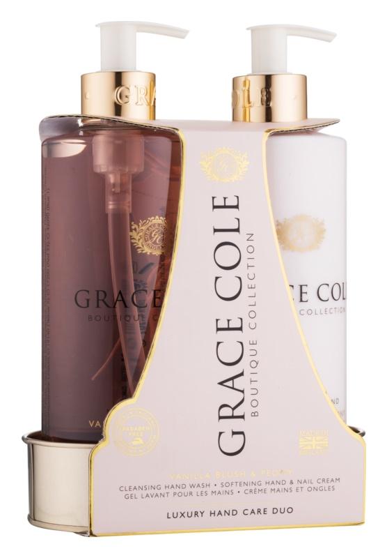 Grace Cole Boutique Vanilla Blush & Peony Cosmetic Set II.