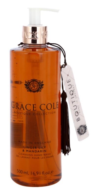 Grace Cole Boutique Ginger Lily & Mandarin Flüssigseife für die Hände