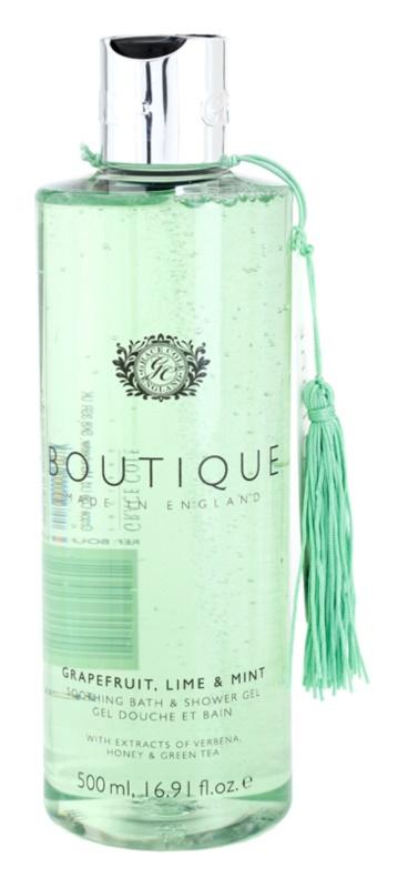 Grace Cole Boutique Grapefruit Lime & Mint zklidňující koupelový a sprchový gel