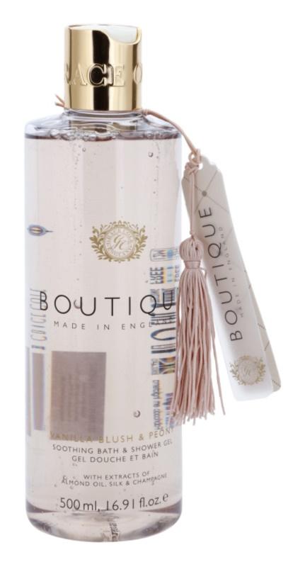 Grace Cole Boutique Vanilla Blush & Peony beruhigendes Bade - und Duschgel