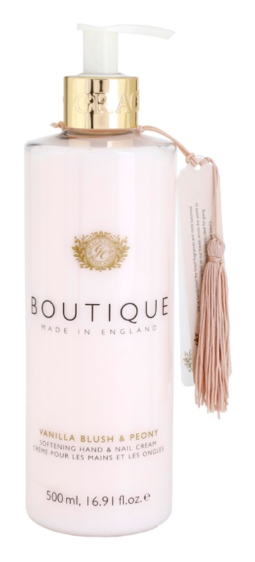 Grace Cole Boutique Vanilla Blush & Peony Softening Hand and Nail Cream