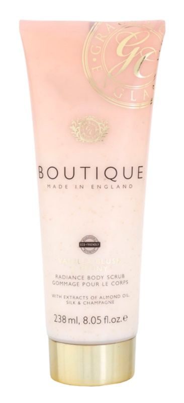 Grace Cole Boutique Vanilla Blush & Peony Brightening Body Scrub