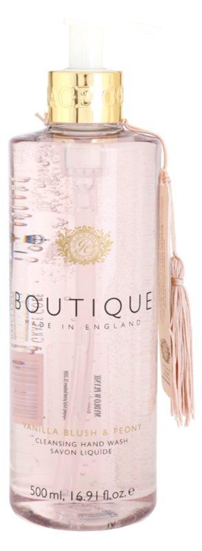 Grace Cole Boutique Vanilla Blush & Peony Flüssigseife für die Hände