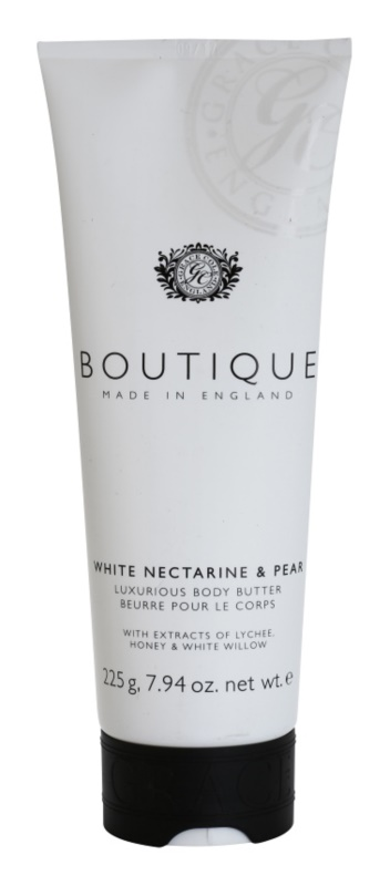 Grace Cole Boutique White Nectarine & Pear luksusowe masło do ciała