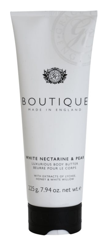 Grace Cole Boutique White Nectarine & Pear Luxurious Body Butter