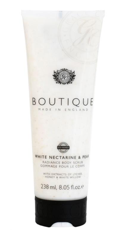 Grace Cole Boutique White Nectarine & Pear exfoliante corporal iluminador