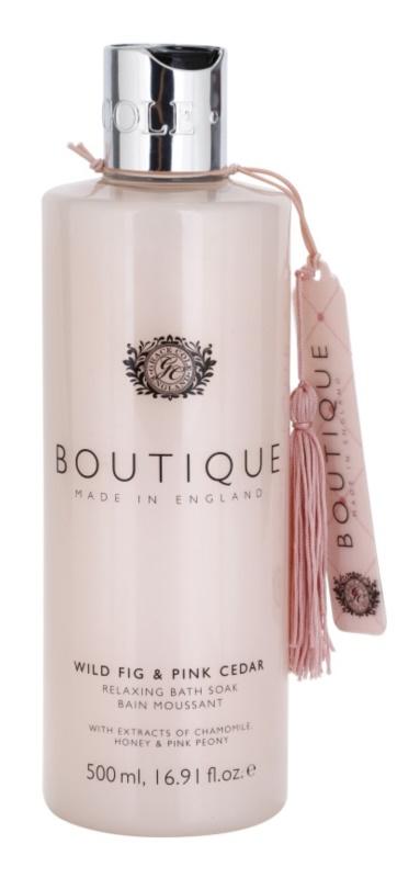 Grace Cole Boutique Wild Fig & Pink Cedar relaxační pěna do koupele