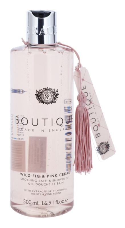 Grace Cole Boutique Wild Fig & Pink Cedar Soothing Bath and Shower Gel