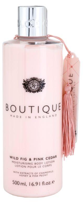 Grace Cole Boutique Wild Fig & Pink Cedar hydratačné telové mlieko