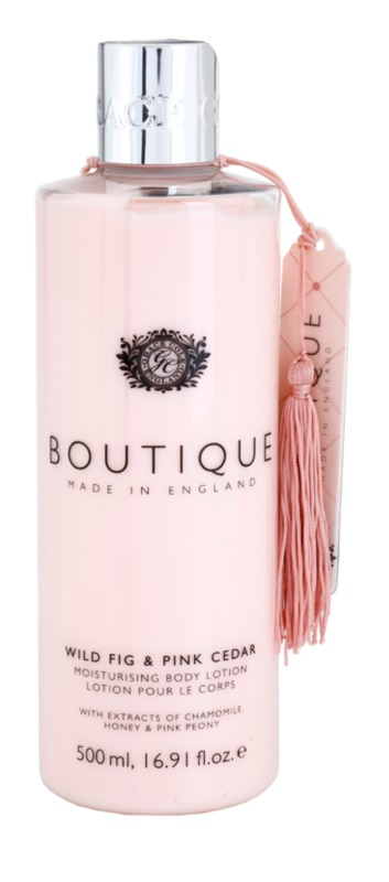 Grace Cole Boutique Wild Fig & Pink Cedar leite corporal hidratante