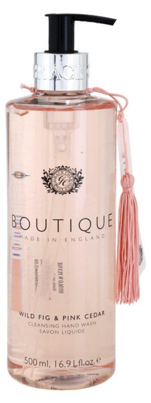 Grace Cole Boutique Wild Fig & Pink Cedar jabón líquido para manos