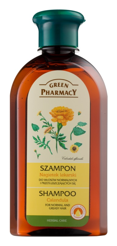 Green Pharmacy Hair Care Calendula champô para cabelo normal a oleoso