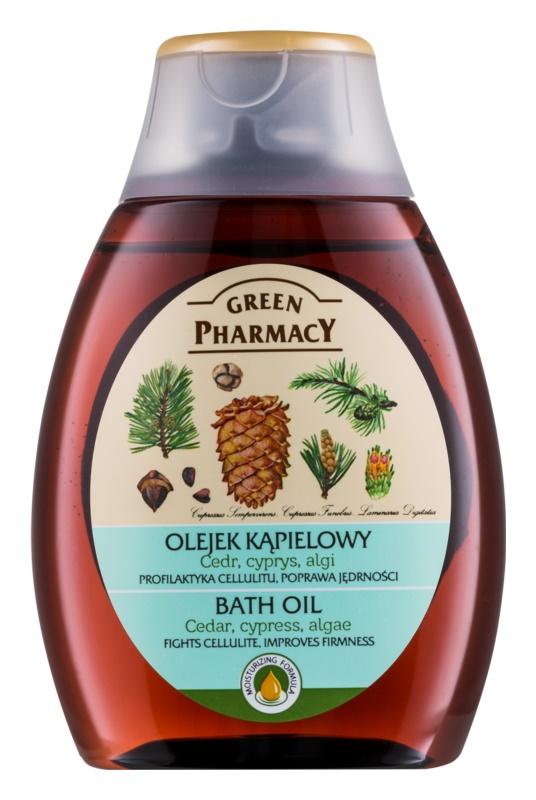 Green Pharmacy Body Care Cedar & Cypress & Algae Bath Oil