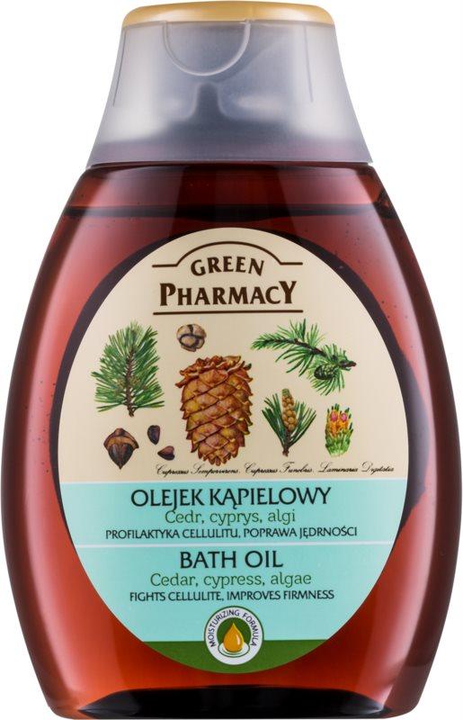 Green Pharmacy Body Care Cedar & Cypress & Algae koupelový olej