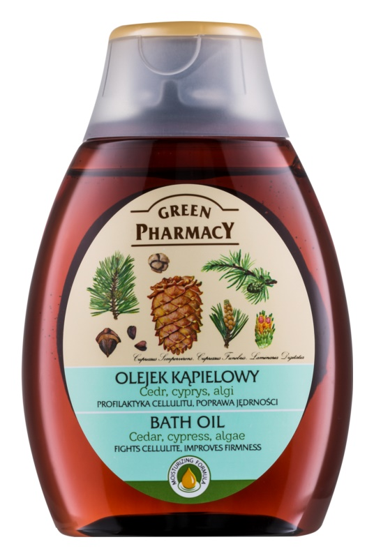 Green Pharmacy Body Care Cedar & Cypress & Algae ulei pentru baie