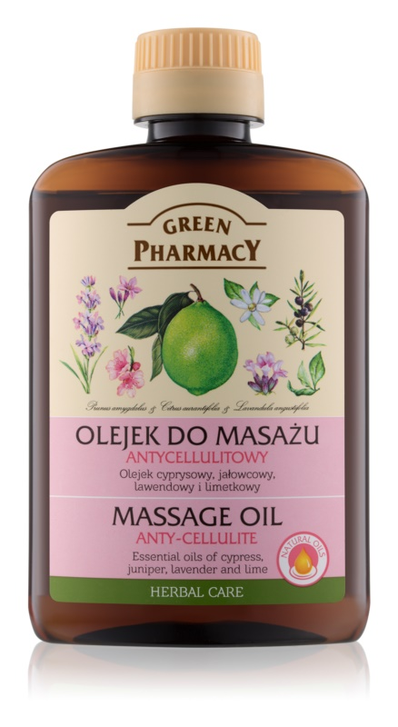Green Pharmacy Body Care masažno olje proti celulitu