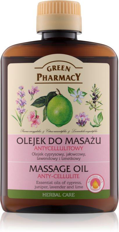 Green Pharmacy Body Care ulei de masaj anti celulita