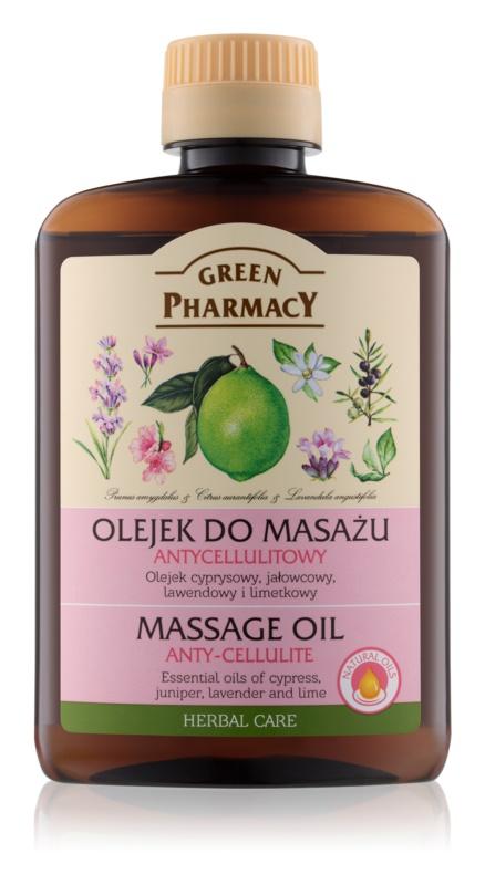 Green Pharmacy Body Care масажна олія проти розтяжок та целюліту