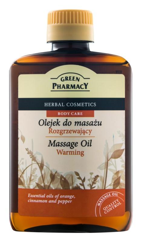 Green Pharmacy Body Care segrevalno masažno olje