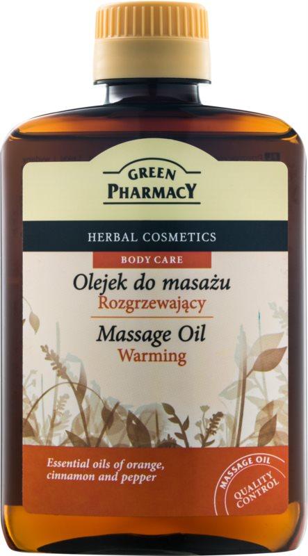 Green Pharmacy Body Care зігріваюча масажна олія