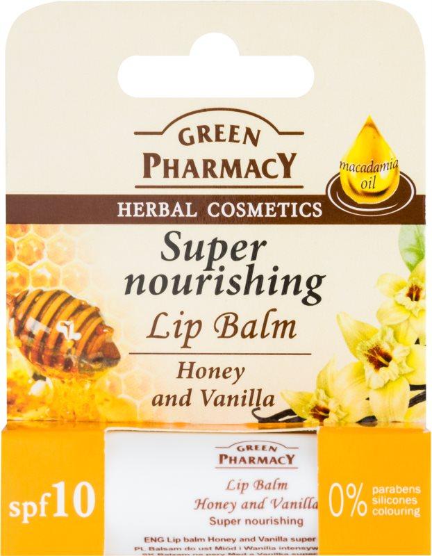 Green Pharmacy Lip Care nährender Lippenbalsam SPF 10