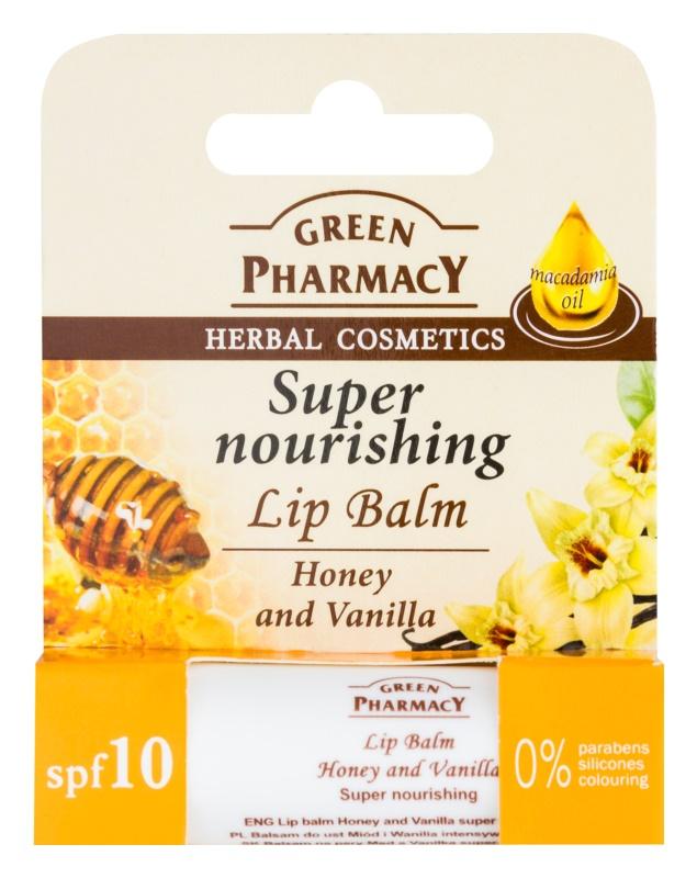 Green Pharmacy Lip Care výživný balzam na pery SPF 10