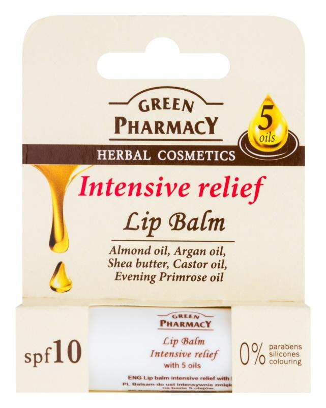 Green Pharmacy Lip Care intenzivní hydratační balzám na rty SPF 10