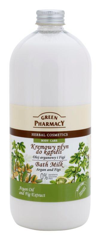 Green Pharmacy Body Care Argan Oil & Figs lapte de baie