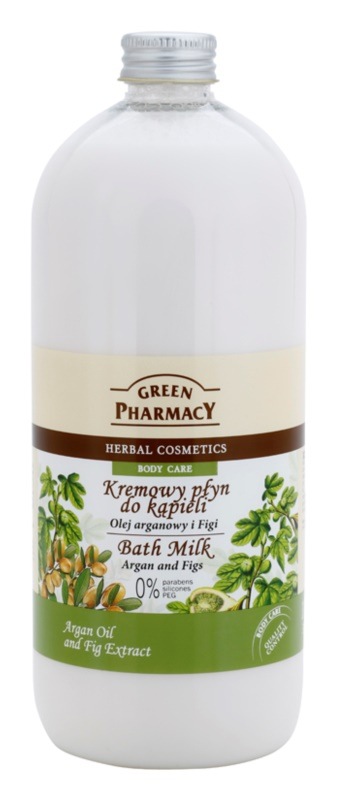 Green Pharmacy Body Care Argan Oil & Figs lapte de baie