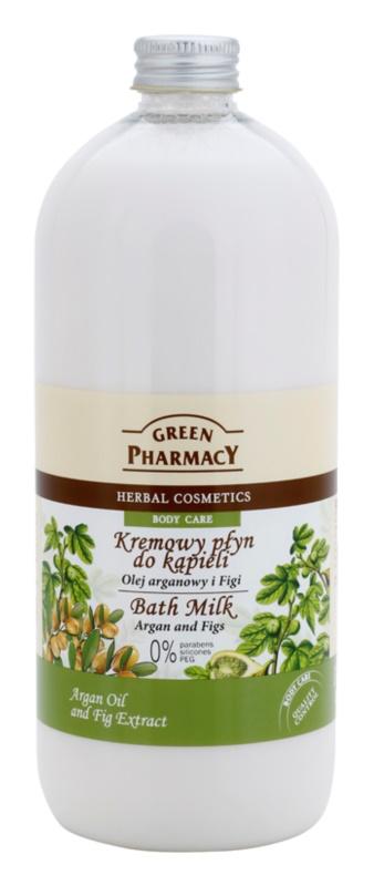 Green Pharmacy Body Care Argan Oil & Figs mleko za kopel