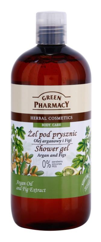 Green Pharmacy Body Care Argan Oil & Figs sprchový gél