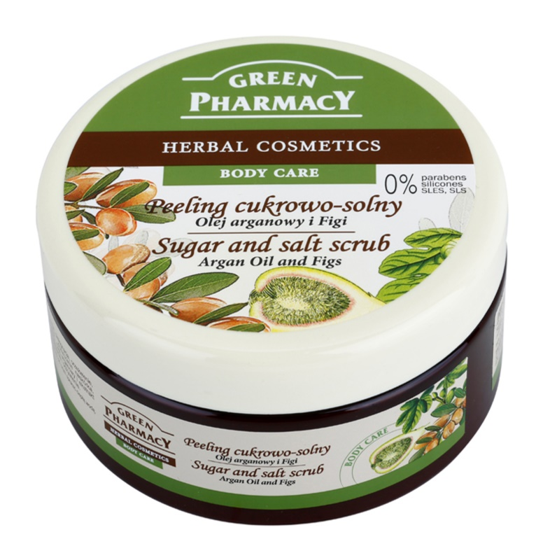 Green Pharmacy Body Care Argan Oil & Figs Sugar and Salt Scrub