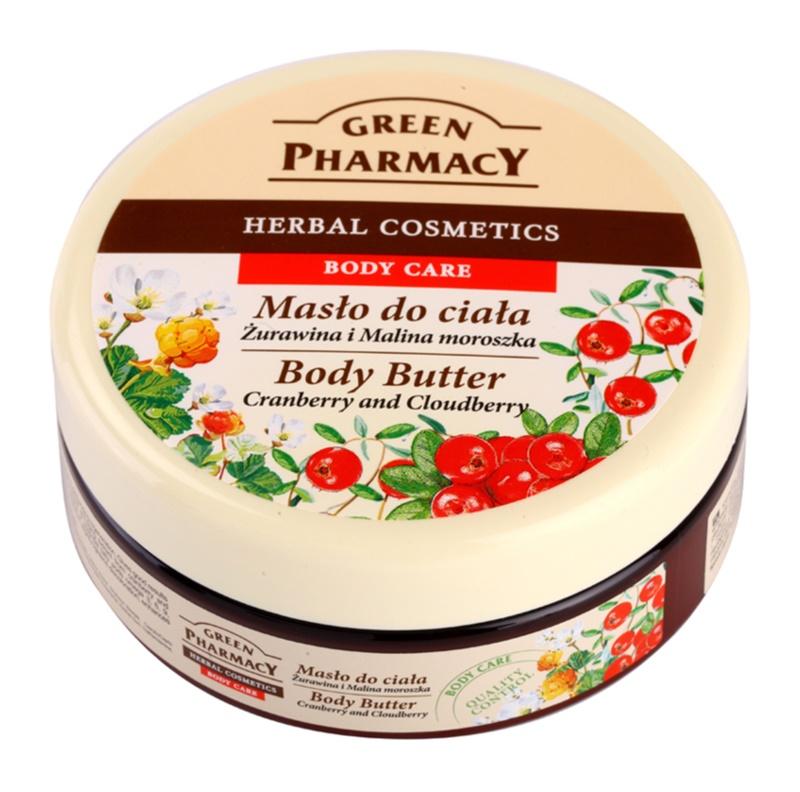 Green Pharmacy Body Care Cranberry & Cloudberry unt  pentru corp