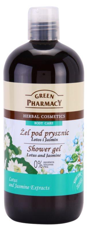 Green Pharmacy Body Care Lotus & Jasmine gel de duche