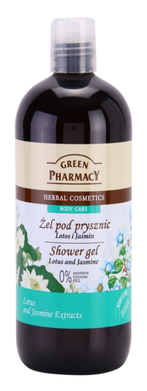 Green Pharmacy Body Care Lotus & Jasmine Shower Gel