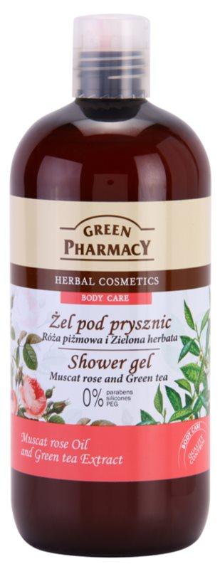 Green Pharmacy Body Care Muscat Rose & Green Tea Shower Gel