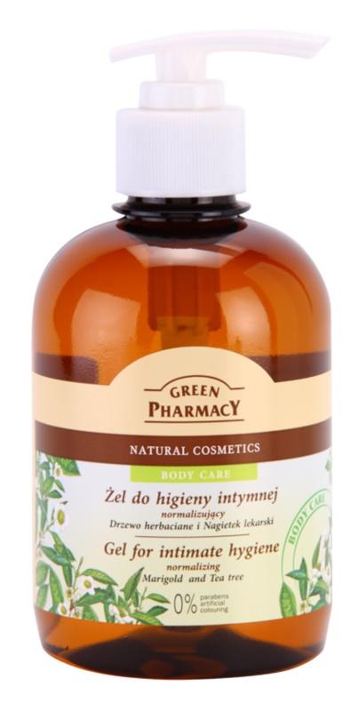 Green Pharmacy Body Care Marigold & Tea Tree gel de higiene íntima