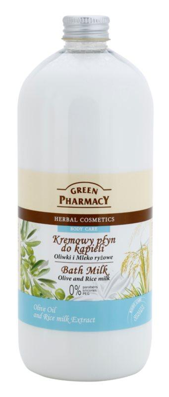 Green Pharmacy Body Care Olive & Rice Milk leche de baño