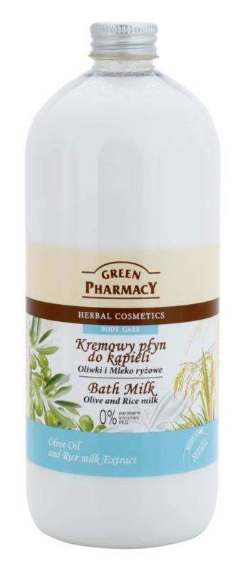 Green Pharmacy Body Care Olive & Rice Milk leite de banho
